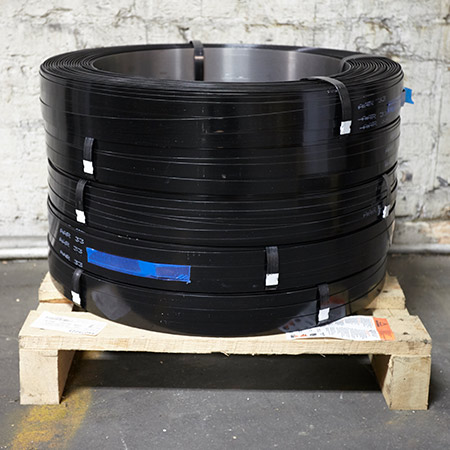 steel strapping and packaging products from Fibers of Kalamazoo